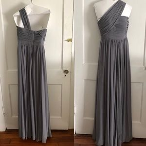 Weddington Way Slate Seraphina Bridesmaid Dress